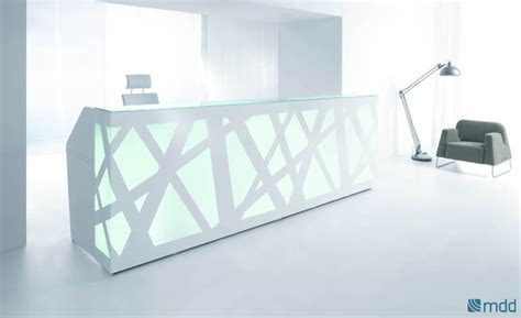 Led Modern Reception Desk From Msl Interiors Modern Led Desk L