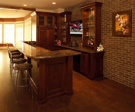 Wet Bars In Basements Basement Wet Bar Ideas For The Home Pinterest