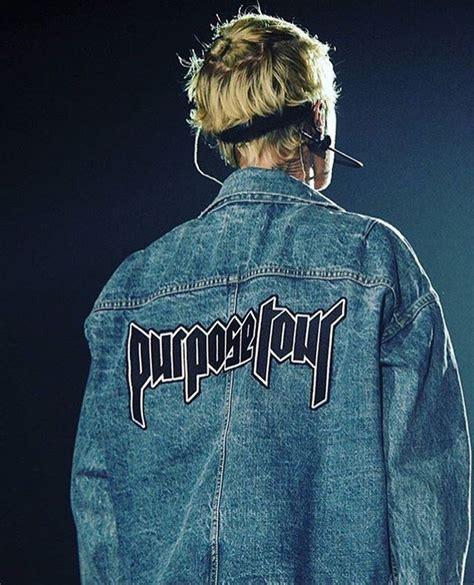 Kaos Tshirt Baju Justin Bieber 1 jacket justin bieber purpose tour purpose denim jacket justin bieber shirt wheretoget