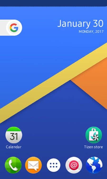 app pattern lock for samsung z1 z3 tizen smartphone nougat launcher app for samsung tizen smartphones released
