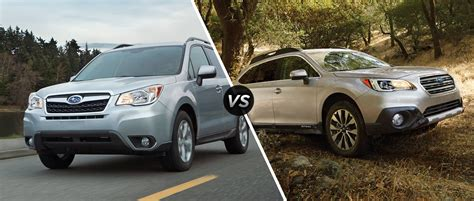 Compare Subaru Forester And Outback by Compare 2014 Subaru Forester Vs 2013 Subaru Outback