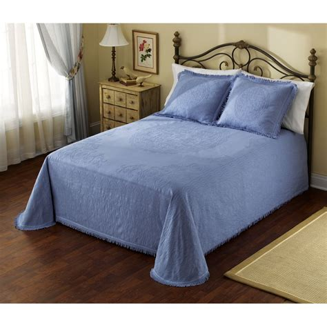 matelasse coverlet blue whole home matelasse bedspread blue home bed bath