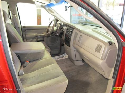 taupe interior 2002 dodge ram 1500 slt cab photo