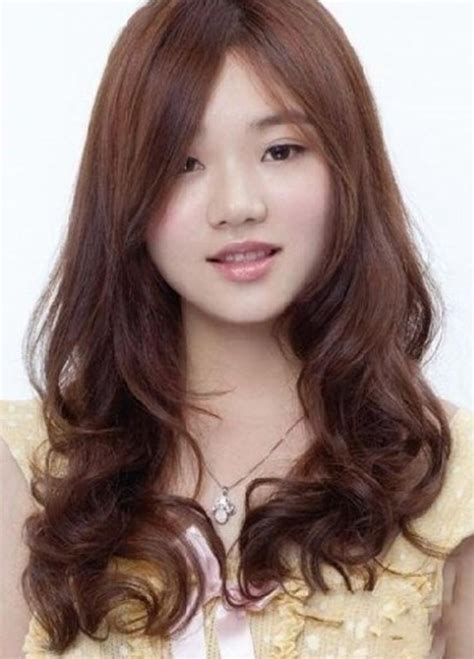 hairstyle for fat chinese face 15 collection of korean hairstyle with round face