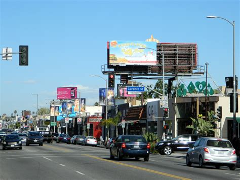 melrose avenue los angeles california destination