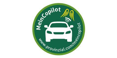 Auto Versicherung Provinzial autoschutzbrief meincopilot provinzial rheinland
