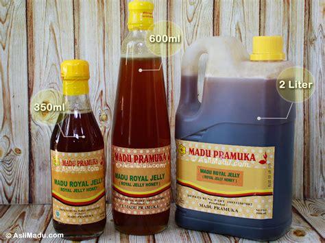 Royal Honey Madu manfaat dan khasiat madu royal jelly pramuka