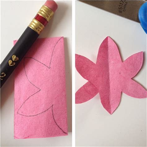 How To Make A Flower Out Of Construction Paper - 3d flower cards for s day squirrelly minds