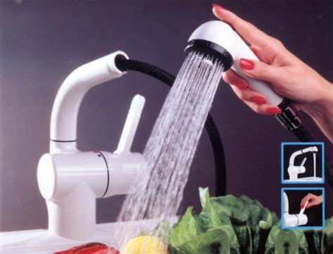 aqua touch kitchen faucet aquatouch aqua touch white kitchen faucet with pullout