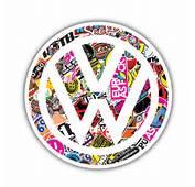 VW Sticker Bomb