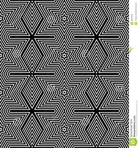 pattern and texture in art seamless geometric op art texture stock vector image