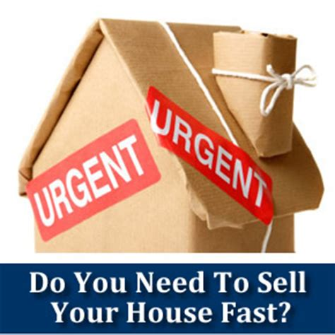 help me sell my house i need to sell my house fast can you help me