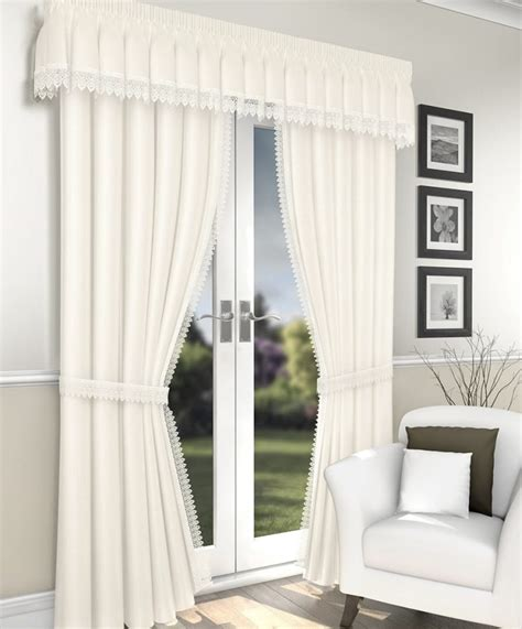 ivory lined curtains lima ivory voile curtain lined curtain drapes
