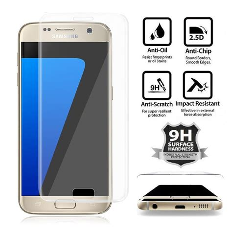 Zagbox Tempered Glass Samsung Galaxy S7 Clear wholesale galaxy s7 tempered glass screen protector