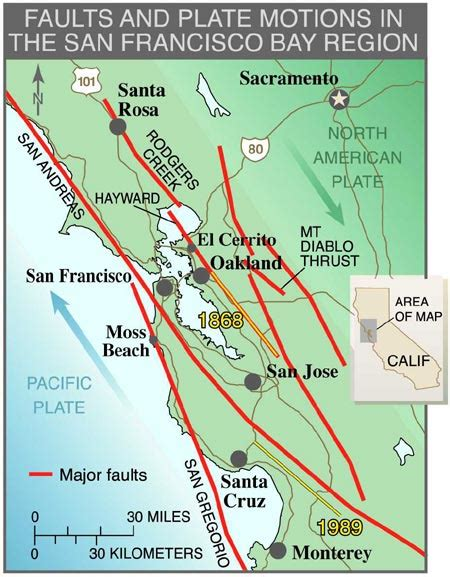 san jose fault map california high speed rail fear and loathing in san jose