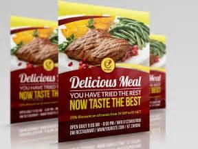 menu flyer template restaurant advertising bundle template vol 10 by