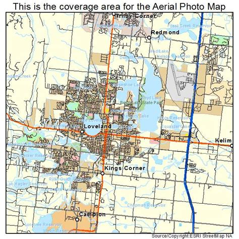 loveland colorado map aerial photography map of loveland co colorado