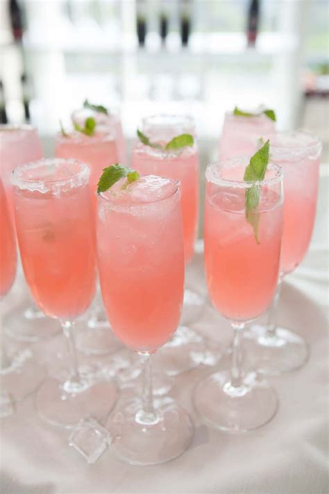 pink cocktail non alcoholic pink drinks