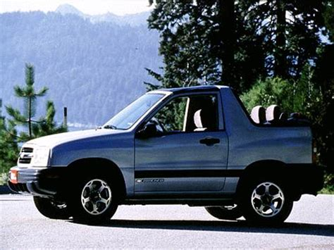 2000 chevrolet tracker | pricing, ratings & reviews