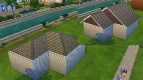 curved roofs sims 4 the sims 4 building roofs