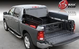 Bakflip G2 Cargo Management System Bakflip G2 Folding Tonneau Cover Mobile Living Truck