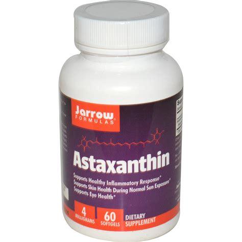 Astaxanthin Detox by Jarrow Formulas Astaxanthin 4 Mg 60 Softgels Iherb