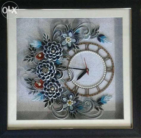 quilling clock tutorial 1000 images about quilled clocks on pinterest quilling