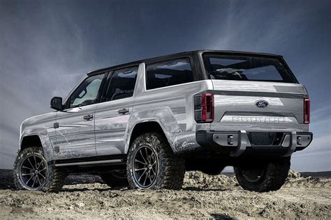 ford bronco 2020 4 door 2020 ford bronco 4 door concept hiconsumption ford