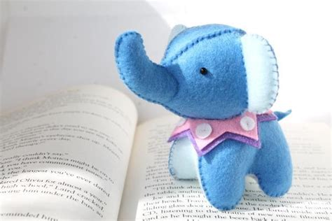 pattern for felt elephant pin felt elephant plush by typing with tea sewing pattern