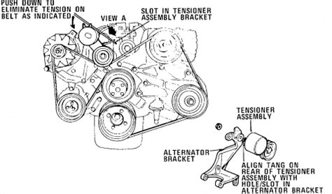 service manual [how to put a belt on a 1990 land rover
