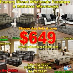 San Antonio Upholstery Shops by Sa Furniture Outlet 10 Photos 10 Reviews Furniture