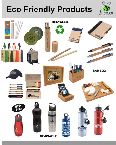 Environmentally Friendly Giveaways - eco friendly products splash promotions