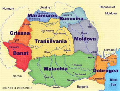 map of romania mrs world map country