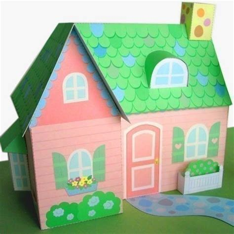 Papercraft Dollhouse - 167 best images about maket papercraft on