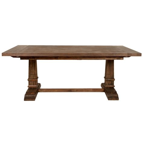 extension dining table oaks extension dining table san luis traditions