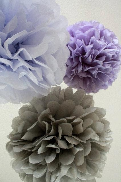 ceiling pom poms 10 tissue paper pom poms your color choice sale