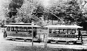Electric Trolley Car History Streetcars