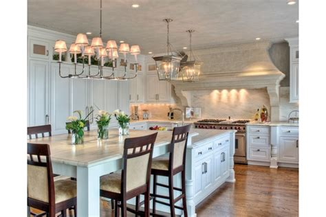 eat in kitchen island kitchen cabinets pinterest