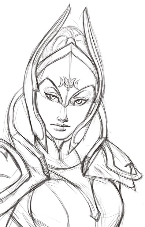 Dota 2 Sketches by Sketch By Iara On Deviantart
