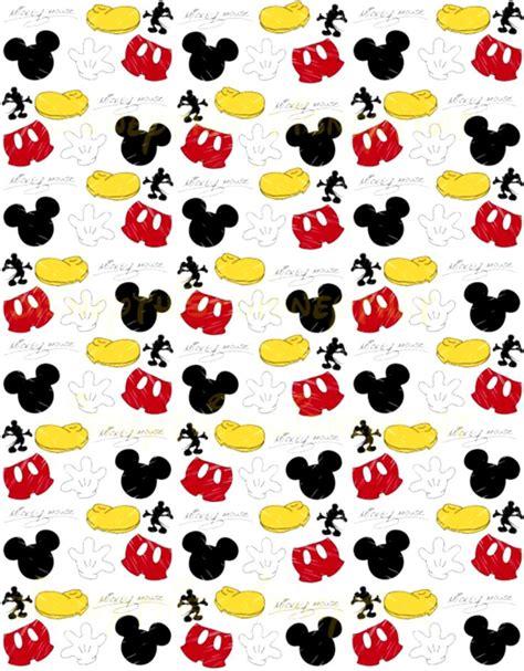 background pattern mickey mickey digi paper fondos de pantalla de celular