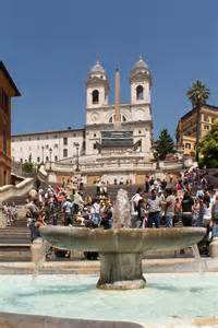 rom spanische treppe steps rome