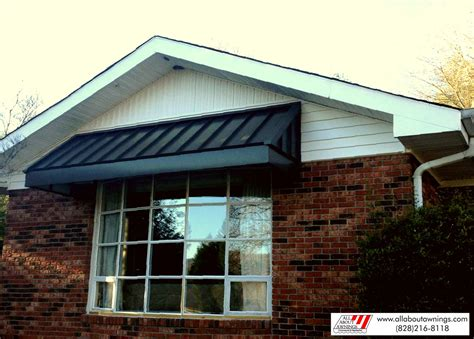 residential door awnings residential aluminum awnings home metal supply aluminum