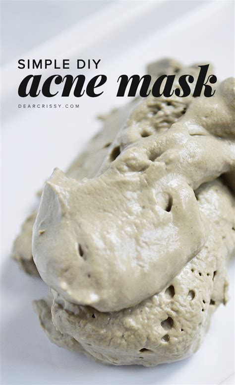 mask for acne diy refresh your with these 20 diy masks