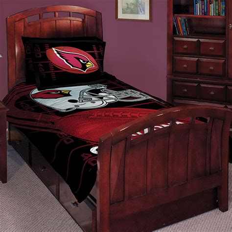 cardinals comforter set arizona cardinals nfl twin comforter set 63 quot x 86 quot