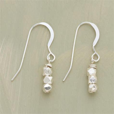Stack Earrings stacks of sterling earrings robert redford s sundance