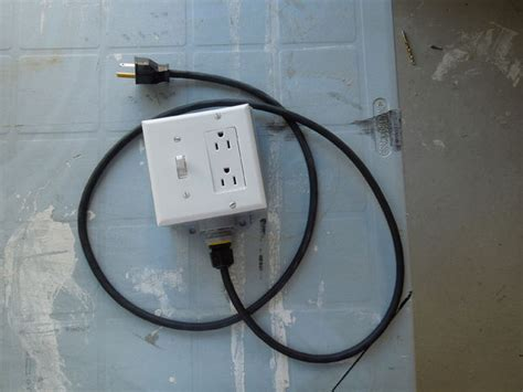 diy extension cord with built in switch safe and