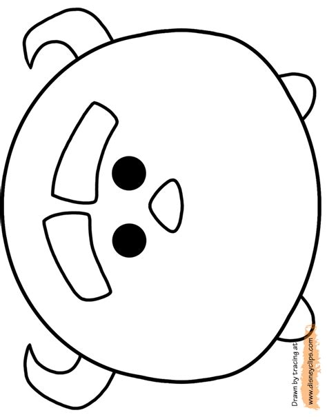 Disney Tsum Tsum Coloring Pages | free coloring pages of tsum tsum