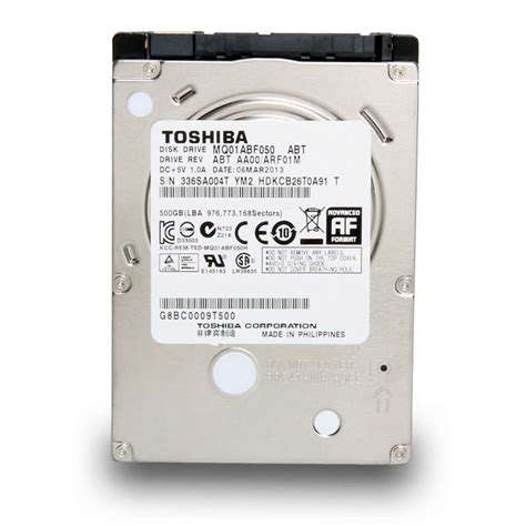Hardisk Eksternal Toshiba 500 Giga toshiba hdd 500gb 5400rpm sata3 discos duros