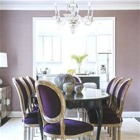 purple dining rooms purple velvet dining chairs design ideas