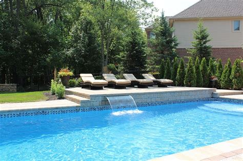 tanning backyard best 25 pool water features ideas on pinterest pool